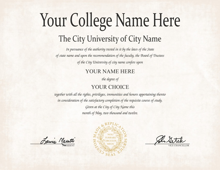 degree certificate template - harvard university diploma template