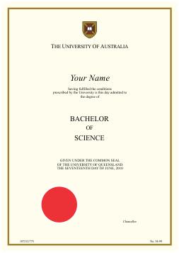 Order Certificate