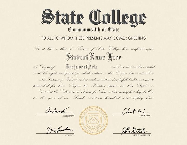 buy a fake high school diploma