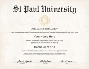US College Diploma Style 1 | Buy Diploma Online