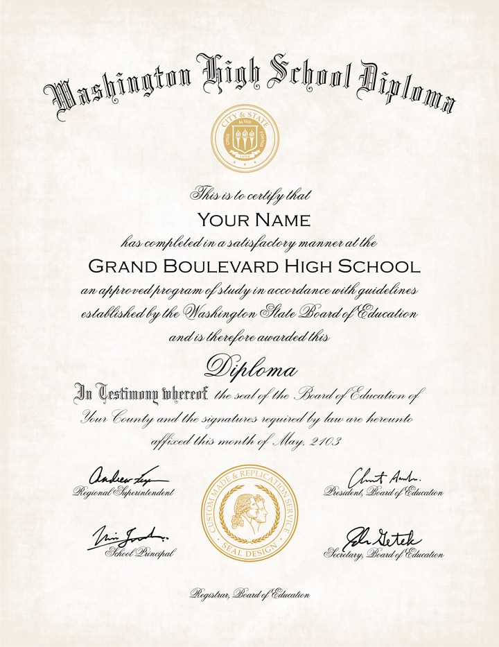 Us High School Diploma Style 11 Buy Diploma Online