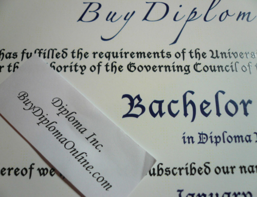 The Canadian Style Diploma – close up