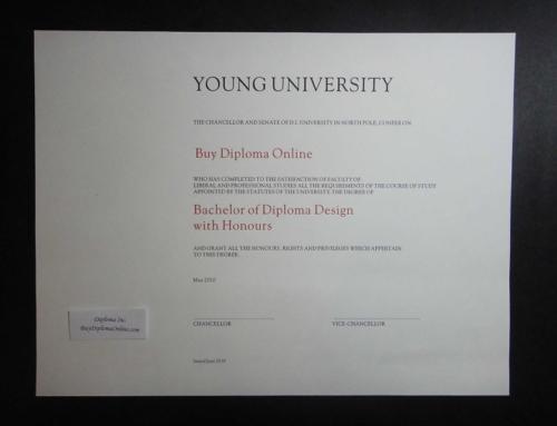 Diploma Sample – Ontario