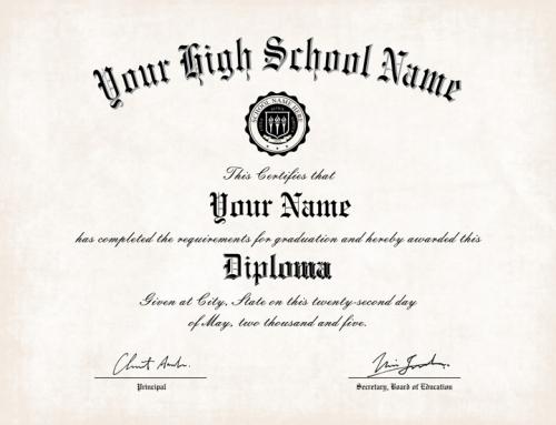 Diploma Templates 15