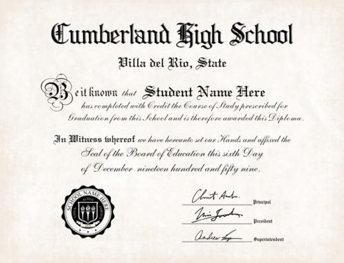 Diploma Templates 13