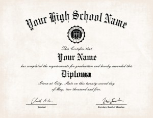 high school certificate template - can you buy a high school diploma buy diploma online