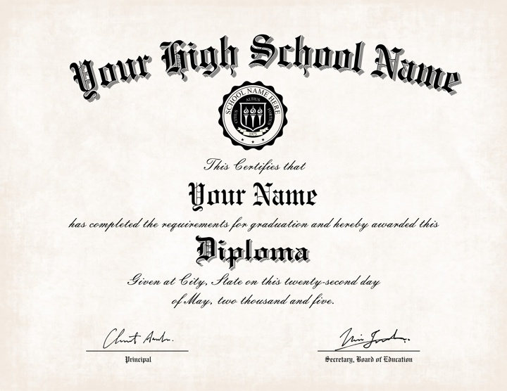 us high school diploma style 2 buy diploma online