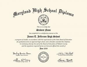 HS Diploma Style 15