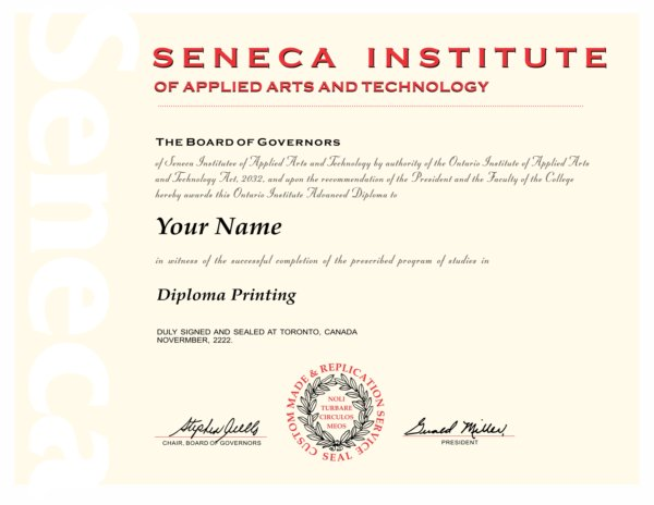 Seneca Institute Buy Diploma Online