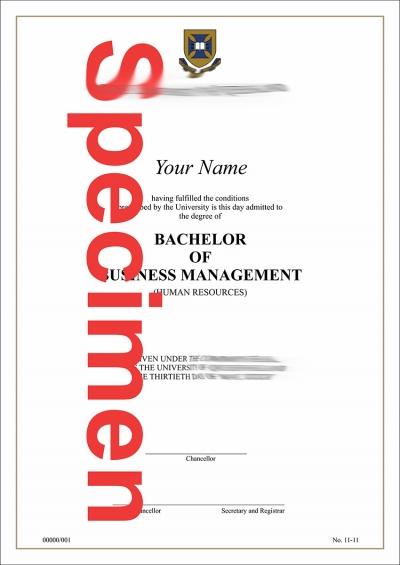 Fake Australia Certificate